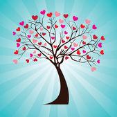 Tree love — Stock Vector