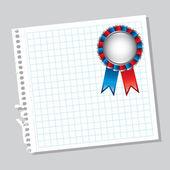 Medal design — Stock Vector