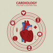 Stock Vector: Cardiology design