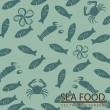 Sea food skin — Stock Vector #30307767