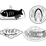Sea food — Stock Vector #30308293