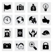 Business icons — Stock Vector #30308963
