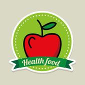 Healthy food — Stock Vector