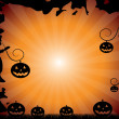 Halloween design — Stock Vector