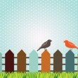 Birds design — Stockvectorbeeld