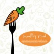 Healthy food — Vector de stock #30529697