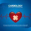 Cardiology design — Stock Vector #30530905