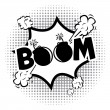 Boom comics icon  — Stockvectorbeeld