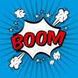 Boom comics icon — Stock Vector #30535985