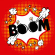 Stock Vector: Boom comics icon