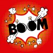 Boom comics icon — Vector de stock