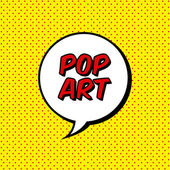 Pop art — Vettoriale Stock