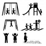Children icons — Stock Vector #30540659