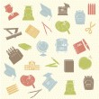School supplies — Imagen vectorial