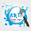Vector de stock : Art design