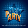 Night party — Stock Vector