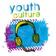 Youth culture — Stock Vector #30605515