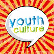 Youth culture — Stock Vector