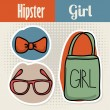 Hipster design — Stock Vector