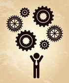 людские ресурсы — Cтоковый вектор