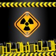 Stock Vector: Biohazard signs