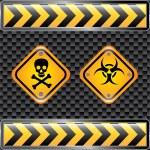 Biohazard signs — Stock Vector #31048833