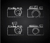 Conception de caméras — Vecteur