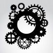 Stock Vector: Gears
