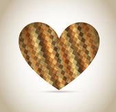 Heart design — Stock Vector