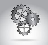 Engranajes — Vector de stock