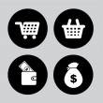 Money icons — Stock Vector #31229731