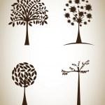 Trees — Stock Vector #31230253