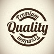 Premium quality — Stock Vector