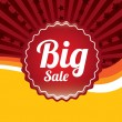 Big sale   — Stok Vektör