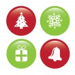 Christmas icons — Stock Vector #31235255
