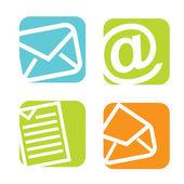 邮件图标 — 图库矢量图片