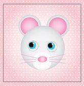 Carino mouse — Vettoriale Stock