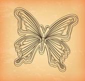 Beatiful butterfly — Stock Vector