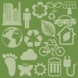 Eco icons — Stock Vector #31291795