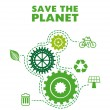 Save the planet — Stock Vector #31292203