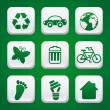 Eco icons — Stock Vector #31292523