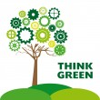 Think green — Stock Vector #31294459