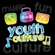 Youth culture — Stock Vector #31383519