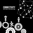 Connectivity — Stok Vektör #31384171
