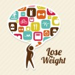 Lose weight — Stock Vector #31384721