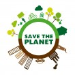 Save the planet — Stock Vector #31384937