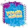 Youth culture — Stock Vector #31385199