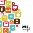 Lose weight — Stock Vector #31386253