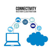 Connectivity — Stock Vector