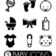 Baby icons — Stock Vector #31745117